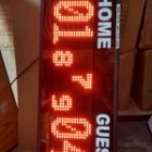 Papan skor Volly Batminton / Skor digital Voli / Scoring boar volly ball / scoreboard / led skor murah / Soni Led Jogja 0822.5777.4400