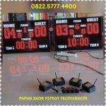 papan skor futsal wireles jarak jauh tanpa kabel / scoreboard / skoring basket wirelles / score digital papanskor PS750TW – 0822.5777.4400