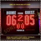 Papan Skor Futsal Basket voli badminton tenis / Scorboard / voly Skoring board / Scoreboard / Scoring board / led papanskor digital PS430 – 0822.5777.4400