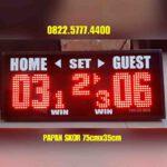 Led skor digital voli volly badminton tenis / skoringDigital / papan skor wireles / scoringboard / papanskor batminton PS735V – 0822.5777.4400 scoreboard wirelles