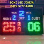 Papan skor voli badminton wireles / skor digital Volly / scoring board batminton tenis volley ball / scoreboard / led skoring digital wirelles PS750V – 0822.5777.4400