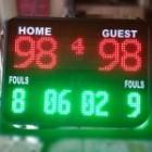 Skor digital Basket Futsal Bola dll / Skoring Digital / Papan skor / Skoring board / Scoringboard / Soni Led Jogja 0822.5777.4400 scoreboard
