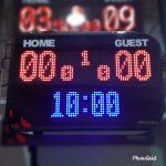 Papan Skor Futsal Basket / Scorboard / Skoring board / Scoreboard / Scoring board / Soni Led Jogja 0822.5777.4400