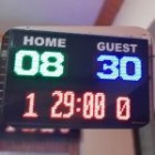 Papan Skor digital murah/ Scoreboard / Scorboard / skoringboard / Skoring Digital Basket Futsal BOLA / Soni Led Jogja 0822.5777.4400 scoringboard