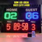 Papan skor futsal basket scoreboard papanskor digital score skoring wireles jarak jauh skoringboard PS960T – 0822.5777.4400
