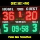 Papan skor scoring board scoreboard Futsal Basket led score papanskor PS755T – 0822.5777.4400