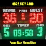 Papan skor scoring board scoreboard Futsal Basket led score papanskor PS755T – 0822.5777.4400