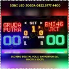 Papanskor voli badminton tenis skoring digital skor skoringboard scoreboard wireles jarak jauh scoring led papan skor digital PS115V – 0822.5777.4400
