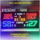 Papan skor digital FUTSAL WIRELES jarak jauh scoreboard led skor skoring scoringboard led score skoring basket futsal PS115T – 0822.5777.4400