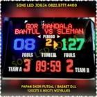 scoreboard basket papan skor futsal scoringboard wireles jarak jauh tanpa kabel skoring papanskor digital lengkap PS128T – 0822.5777.4400