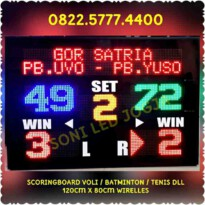 Scoreboard digital papanskor voly score skor badminton papanskor voli batminton skoring led papan skor PS128V – 0822.5777.4400