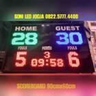Papanskor futsal wireles jarak jauh scoreboard scoringboard basket led papan skor score skoring PS960TP – 082257774400