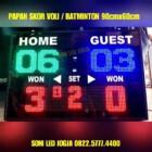Scoreboard voli badminton tenis wireles jarak jauh scoringboard papan skor voly voley batminton skoring PS960V – 0822.5777.4400